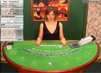 Live Blackjack bij Casino Euro